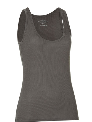 A simple, seasonal staple, a ribbed tank in olive green is a basic piece for a safari-inspired look. Majestic Olive Ribbed Tank Top ($49)