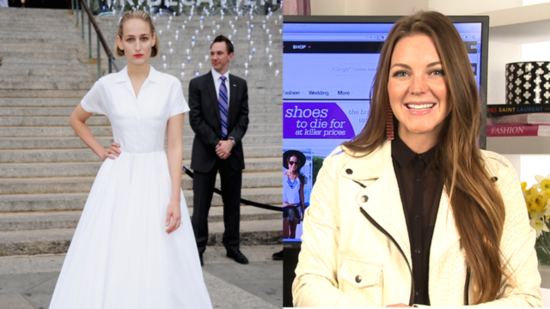 Leelee Sobieski's White Jil Sander Gown Is Fit For a Bride