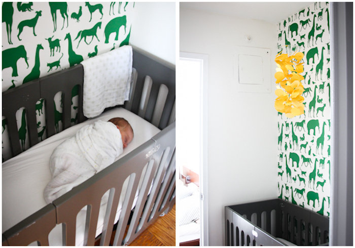 A Minimal, Modern Nursery Space