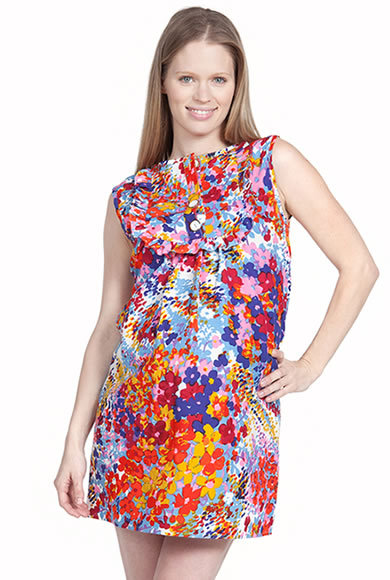 More of Me Maternity Penelope Bib Dress ($170)