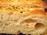 Rosemary &amp; Sea Salt Focaccia