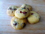 Cranberry &amp; White Chocolate Cookies