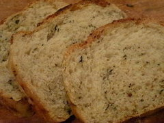 Lemon Thyme & Garlic Bread