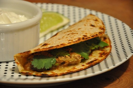 Tacos With Chile Verde