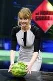 Jennifer Lawrence participated in a game on the El Hormiguero show.