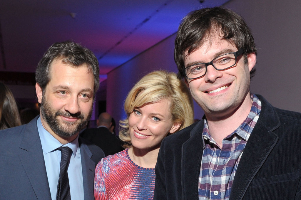 Judd Apatow, Elizabeth Banks, and Bill Hader hung out together at the premiere party for The Five-Year Engagement.