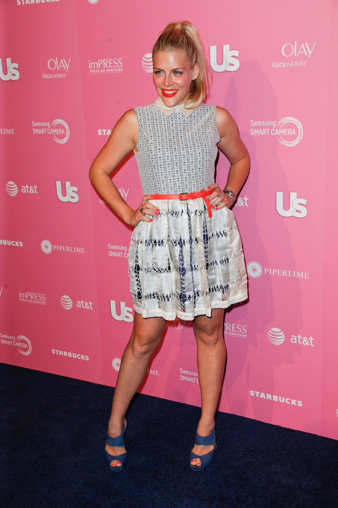 Busy Philipps attended the Us Hot Hollywood party.