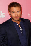 Kellan Lutz attended the Us Hot Hollywood party.