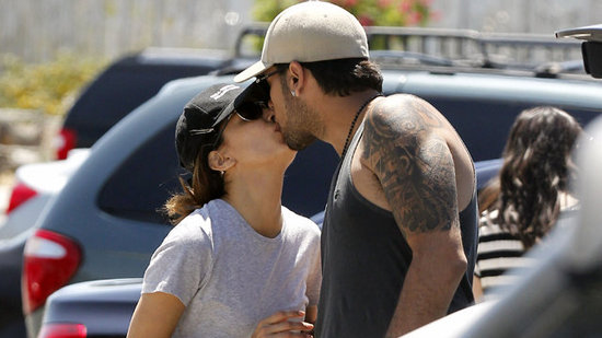 "Video: Eva Longoria Packs on the PDA With Eduardo Cruz and Says ""I'm Happy"""