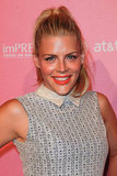 Busy Philipps smiled at the Us event.
