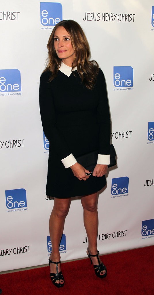 Julia Roberts showed off her amazing figure at the premiere of Jesus Henry Christ.