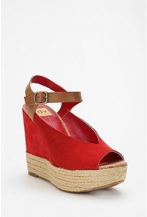 These contrast wedges have a cool hipster vibe.  Dolce Vita Badu Espadrille Wedge ($89)