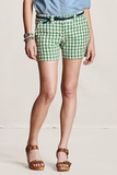 In a classic cut and comfy cotton, these shorts will easily become a Spring to Summer staple.  Lands' End Women's Lightweight Plaid Shorts ($45)