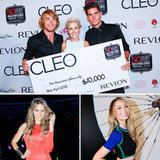 Hayden Quinn Crowned Cleo Bachelor of the Year at a Star-Studded Party