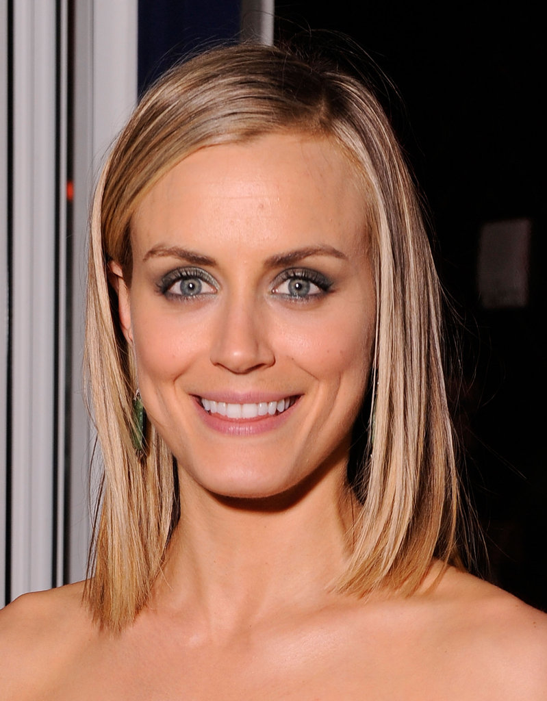 Taylor Schilling attended the Cinema Society and Men's Health screening of The Lucky One in NYC.