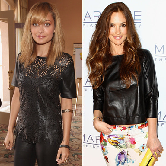 Shop the latest celeb obsession with leather tops.