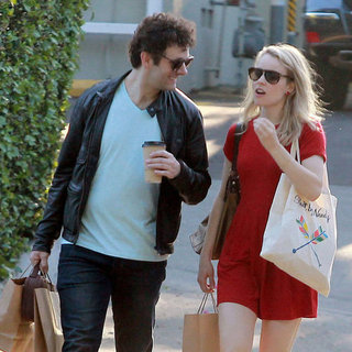 Rachel McAdams and Michael Sheen Pictures Shopping in LA
