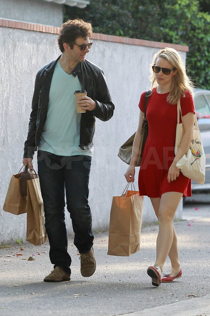 Rachel McAdams and Michael Sheen Get Domestic in LA
