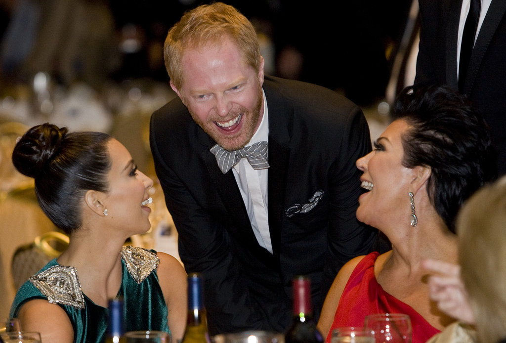 Jesse Tyler Ferguson stopped by to chat with Kris Jenner and Kim Kardashian.