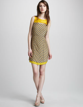 Rag & Bone Chelsea Geometric Print Dress ($415)