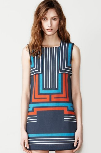 Lacoste Sleeveless Geo Dress ($620)