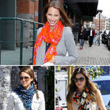 Celebs Adore Theodora & Callum's Printed Scarves — See How They Wear Them!