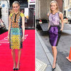 Taylor Schilling&#039;s The Lucky One Promotion Outfits