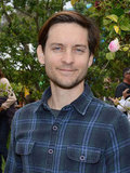 Tobey Maguire looked handsome at the fourth annual Children Mending Hearts Spring benefit.