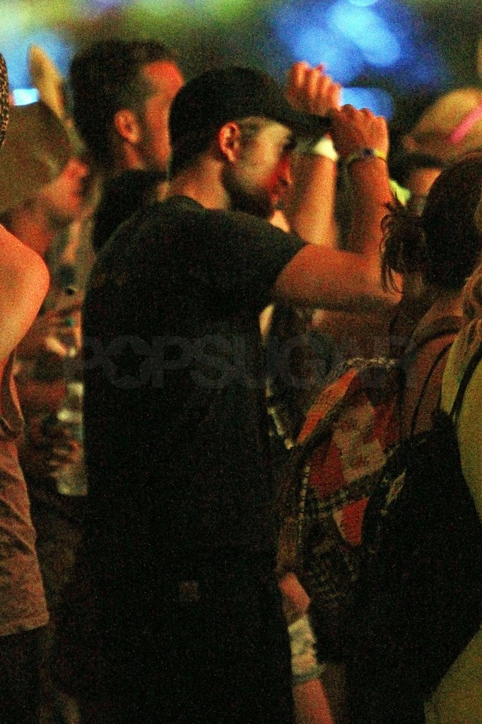 Robert Pattinson and Kristen Stewart Hit Coachella Together