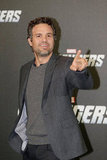 Mark Ruffalo stopped in Berlin.