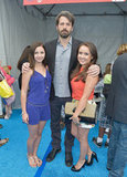 Ben Affleck posed with young actresses Jennifer Veal and Rachel G. Fox at the Children Mending Hearts benefit.