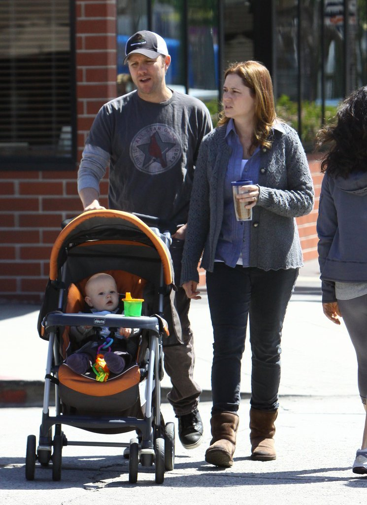 Jenna Fischer and Weston: Chicco Cortina