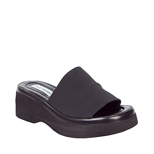 Steve Madden Stretchy Platform Sandals