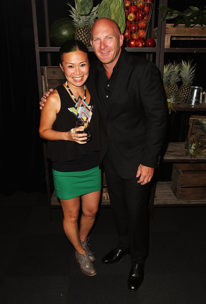 Poh Ling Yeow and Matt Moran
