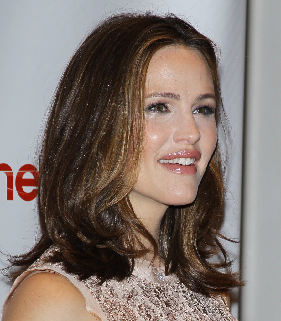 Jennifer Garner posed at CinemaCon in Las Vegas.