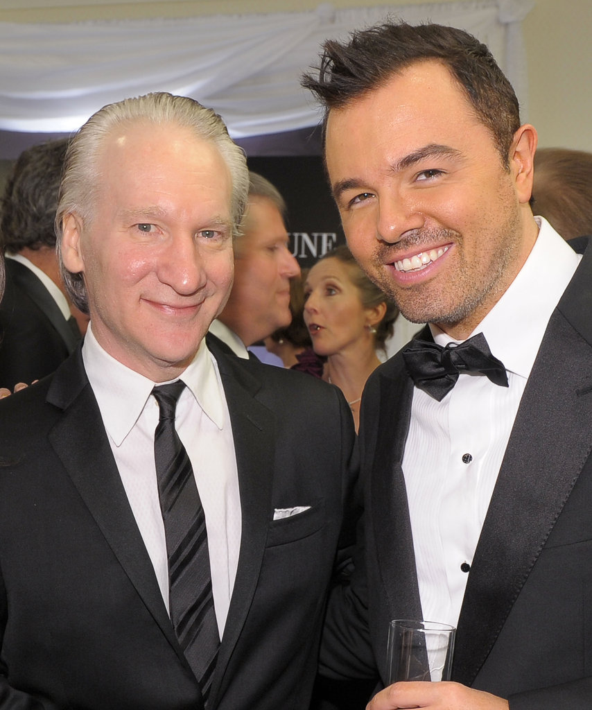 Bill Maher and Seth MacFarlane