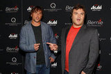 Director Richard Linklater and Jack Black had some fun at the New York premiere of Bernie.