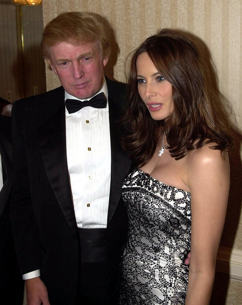 Donald Trump and Melania Knauss