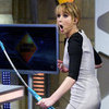 Jennifer Lawrence Playing Archery Game on El Hormiguero