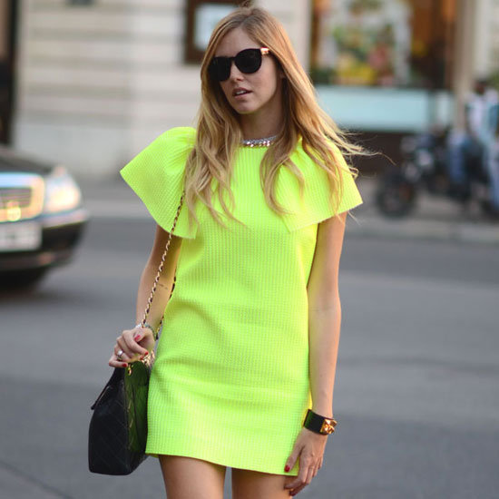 Neon Street Style Spring 2012