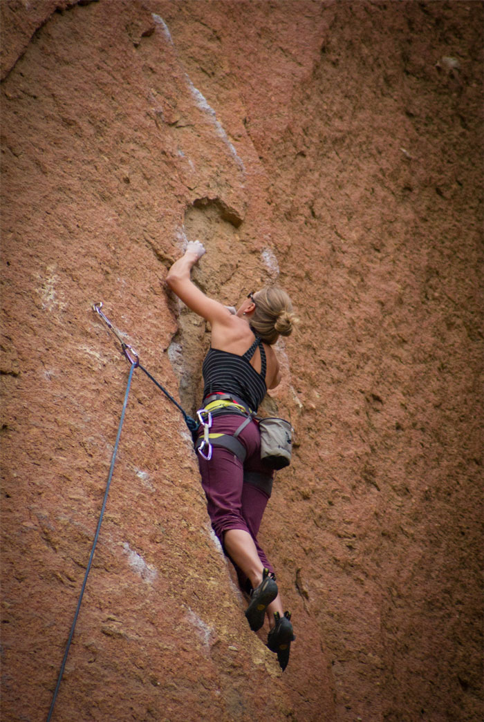 Rock Climbing Smith Rock State Park, Oregon
