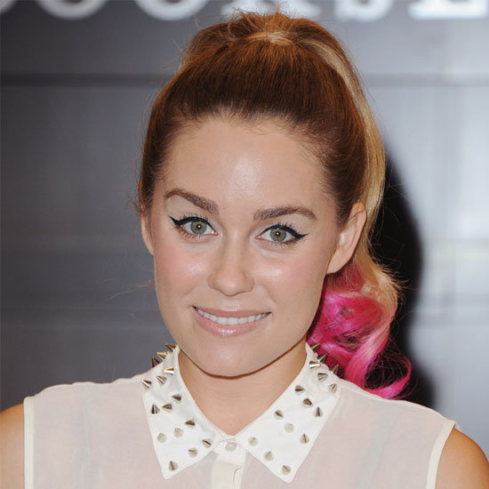 Lauren Conrad took cute and flirty to whole new levels last night wearing