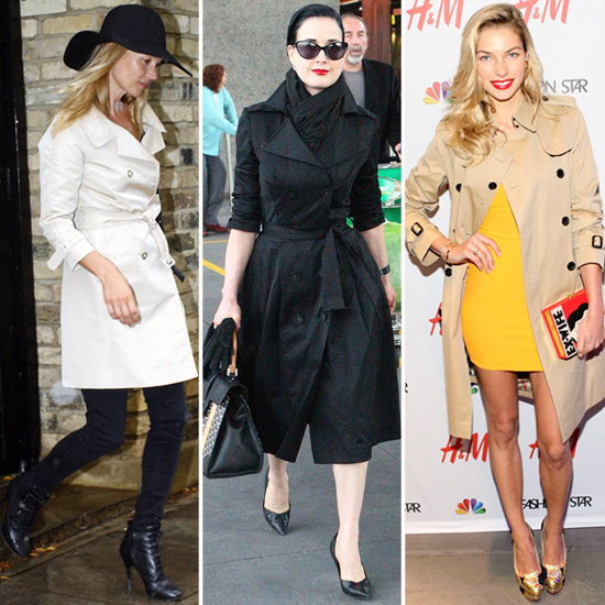 The Trench Coat — 26 Celebs Show How to Wear It For Work and Play!