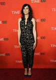 Kristen Wiig wore a black lace Stella McCartney jumpsuit to attend the Time 100 gala in NYC.