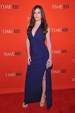 Lisa Bettany stepped onto the red carpet in celebration of the Time 100 gala in NYC.
