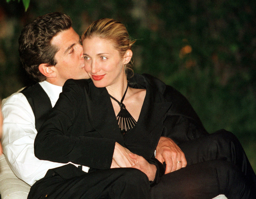 Carolyn Bessette and John F. Kennedy Jr.
