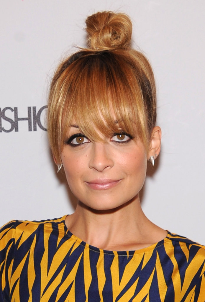 Nicole Richie attended a Fashion Star party at H&M.