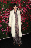 Liv Tyler posed at the Chanel dinner party at the 2012 Tribeca Film Festival.