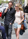 Kate Bosworth and Michael Polish took a stroll after grabbing lunch in LA.