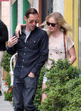 Kate Bosworth and Michael Polish took time out for a lunch date together in LA.